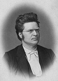 Bilde av den kjente og folkekjære dikteren Bjørnstjerne Bjørnson. (1832-1910)