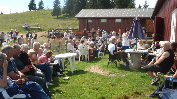 Kulturdagen 17 juli på Prestlia med nærmere 200 besøkende